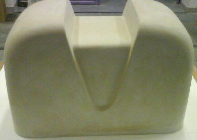 Kryt výrobníka tepla - model